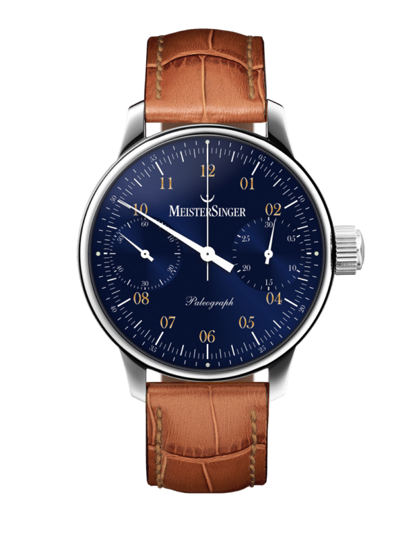 SC108 MeisterSinger Paleograph luxury watch.